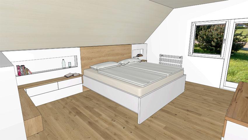 Ankleide und Schlafzimmer | Hoyng Möbeltischlerei und ...